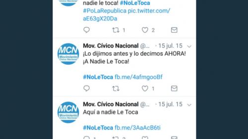 ¿Cuál es el origen del #NoTeToca? Este es el debate en las redes