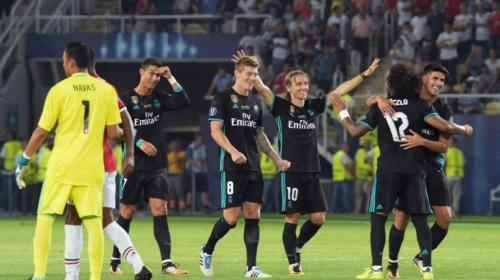Real Madrid es campeón de la Supercopa de Europa