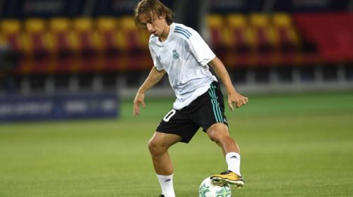 Modric no jugará contra el Barcelona por una sanción de hace tres años