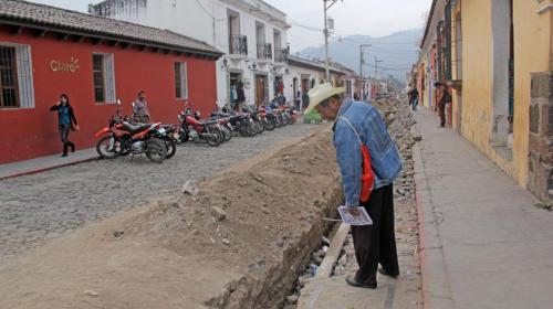 Colonias de la Antigua Guatemala se quedan sin agua potable