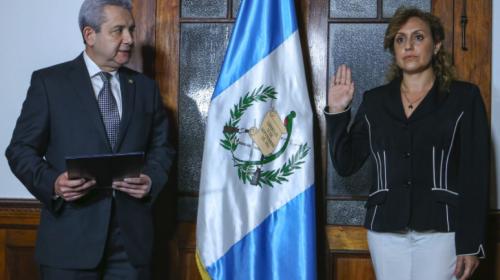 Heidi Estrada es la nueva jefa de la Secretaría de Bienestar Social