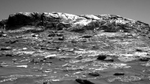 """""""Curiosity"""" de la NASA captó un extraño fenómeno en Marte"""