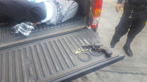 Tiroteo en zona 1 deja una mujer muerta y dos menores detenidos
