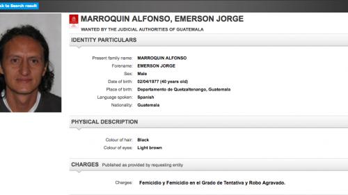 Búsqueda del supuesto asesino de Gabriela Barrios llega a la Interpol