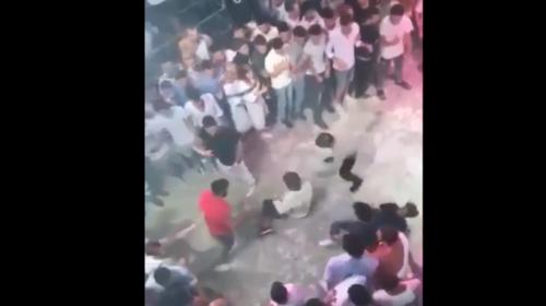 La patada que acabó con la vida de un turista en una discoteca