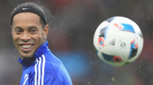 ¿El verdadero creador de la celebración de Messi y CR7 fue Ronaldinho?