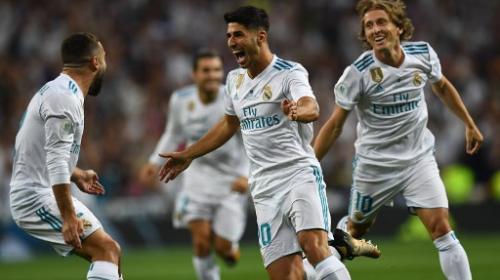 Golazo de Marco Asensio tiene contra las cuerdas al FC Barcelona