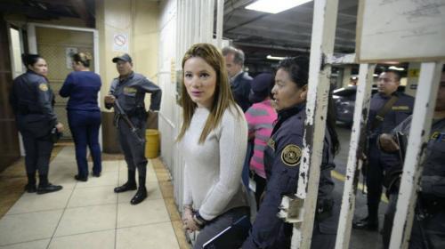 El día que Daniela Beltranena salió de prisión y volvió borracha