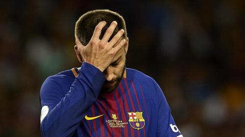 """Piqué: """"Por primera vez en años me siento inferior ante el Madrid"""""""