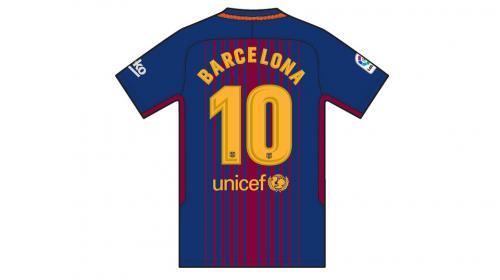 El Barcelona lucirá un uniforme sin los nombres de sus jugadores