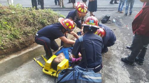 Identifican a los heridos del accidente en ruta Interamericana