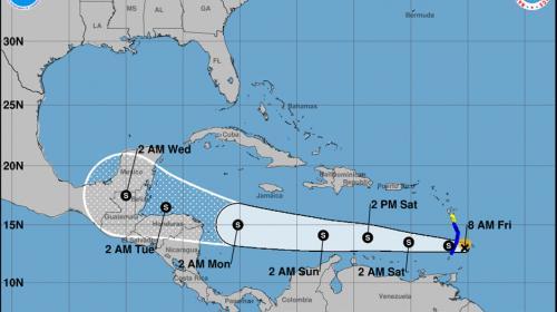 Tormenta tropical Harvey podría afectar territorio guatemalteco