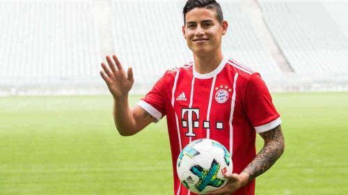 Escándalo en Alemania por el sueldo de James Rodríguez en el Bayern