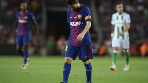 """El histórico """"hat trick"""" de Messi... a los postes"""