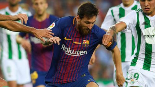La foto de Messi, solo contra el mundo y el Betis
