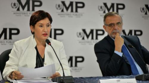 """Thelma Aldana: """"Si expulsan a Iván Velásquez, ganan los criminales"""""""