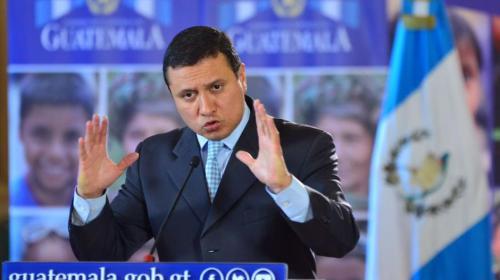 """Canciller: """"El objeto de la visita no es pedir la salida de Velásquez"""""""