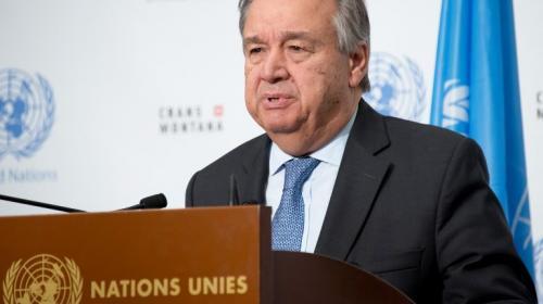 Jimmy llega a Nueva York y el Secretario de la ONU ¿se va?