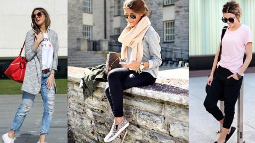 Prendas cómodas y fashion para el fin de semana
