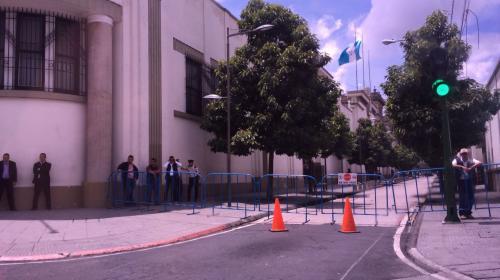 ¿Por qué está cerrado el paso alrededor de Casa Presidencial?