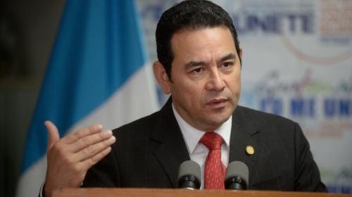 Presidente Jimmy Morales no pidió la salida de Iván Velásquez de CICIG