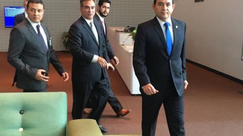 Jimmy ya está reunido con el Secretario General de la ONU