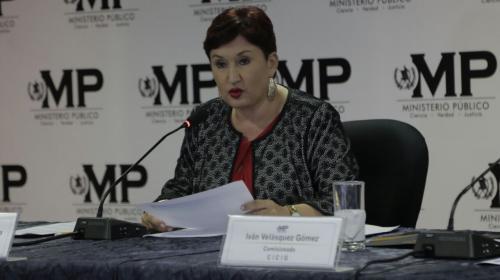 MP presenta antejuicio contra Jimmy Morales