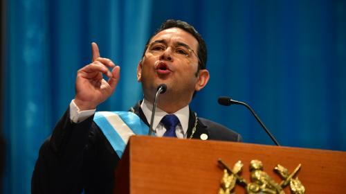Jimmy Morales declara non grato a Iván Velásquez y lo expulsa del país