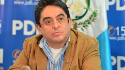 PDH también presenta amparo a favor de Iván Velásquez