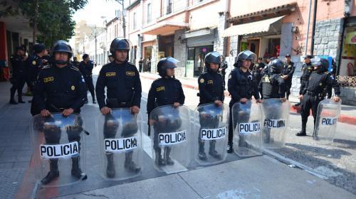 """Las FEP son llamadas por el Gobierno para """"resguardar"""" a manifestantes"""