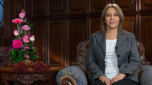 Thelma Aldana recibió invitación de la Primera Dama