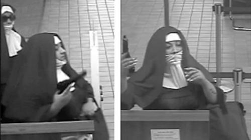 """El FBI busca a dos """"monjas"""" por intento de asalto a un banco en EE.UU."""