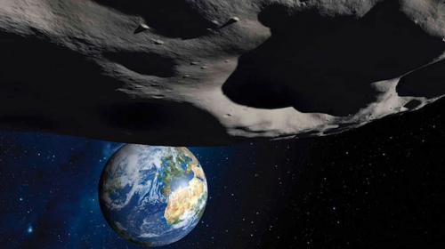 Un enorme asteroide pasará más cerca que nunca de la Tierra