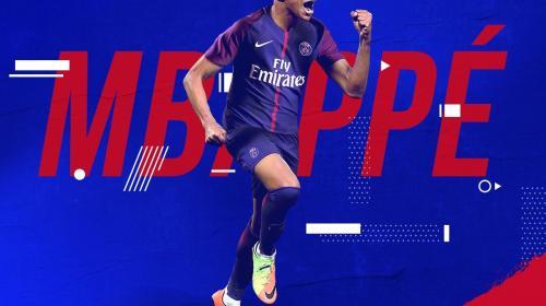 El Paris Saint-Germain hace oficial el fichaje de Mbappé