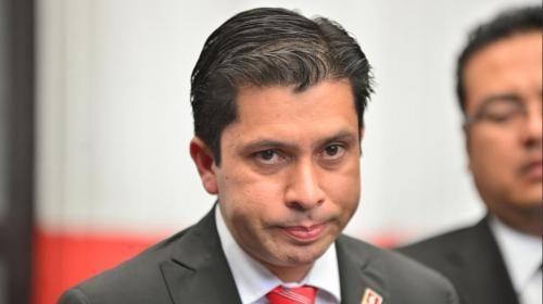 Cancelan contrato en el MAGA del exvocero del partido Lider