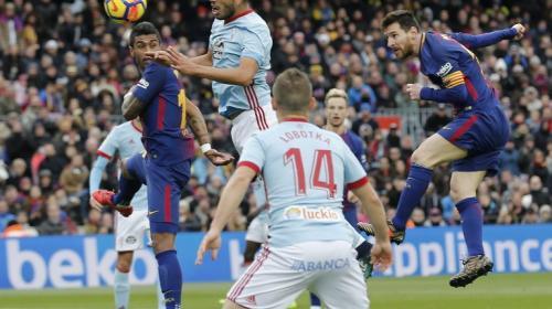 El Barcelona empata ante el Celta y continúa de líder en la Liga