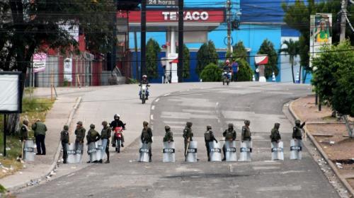 Se inicia el segundo día del toque de queda en Honduras