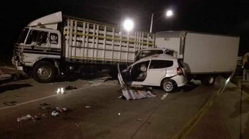 Trágico accidente en ruta al Atlántico deja dos adolescentes muertos