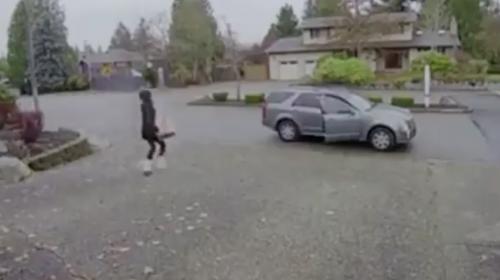 Niñera detiene a una ladrona que intentó robar en una casa