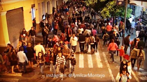 ¿Qué ocurrió el domingo durante un desfile navideño en zona 1?