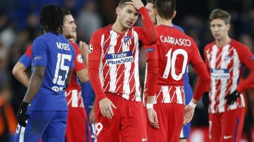 ¡Eliminados! Atlético de Madrid queda fuera de la Champions