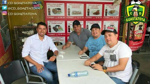 Juan José Paredes será el nuevo portero del Deportivo Guastatoya