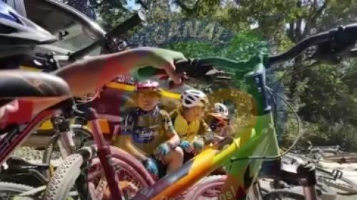 Video: delincuentes intentan asaltar a ciclistas en el Lago de Atitlán