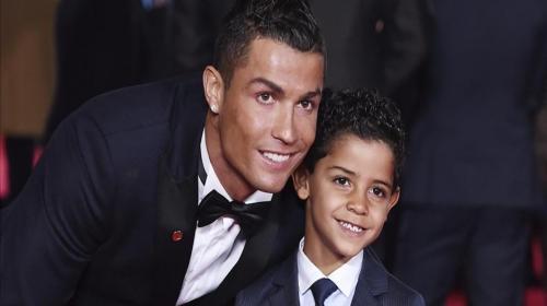 La verdad sobre la cuenta de Instagram del hijo de Cristiano Ronaldo