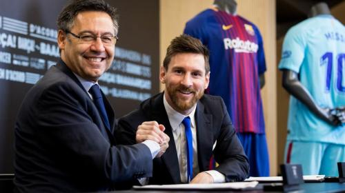 Filtran las cifras del contrato de renovación de Lionel Messi