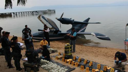 ¿Qué pasó con los hombres que piloteaban este lujoso hidroavión?