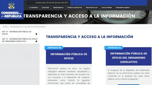 """Congreso renueva su página de Internet para evitar """"hackeos"""""""