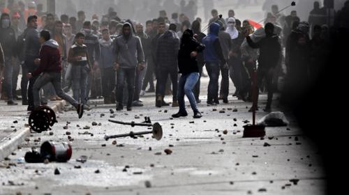 Fuertes disturbios en Belén tras anuncio de Trump sobre Jerusalén