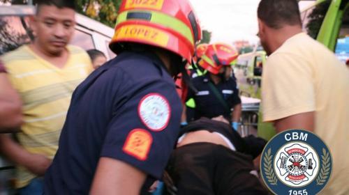 Cinco heridos tras ataque armado en la Reformita, zona 12