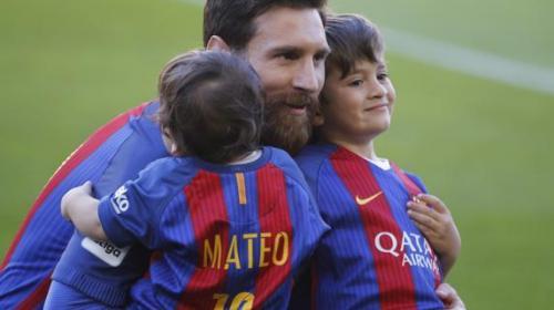 La extraña forma en la que Messi se refiere a sus hijos